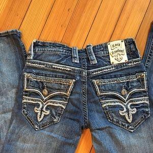 Men's Rock Revival slim boot jeans 30x31